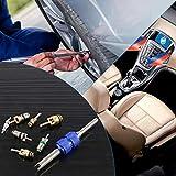 Glarks 41Pcs Car Air Conditioner Valve Core