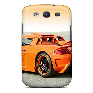 S3 Scratch-proof Protection Cases Covers For Galaxy/ Hot Koenigseder Porsche Carrera Gt '2009 Phone Cases