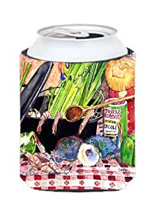 Caroline's Treasures 8825-2CC Gumbo and Potato Salad Can or Bottle Koozie Hugger, Multicolor