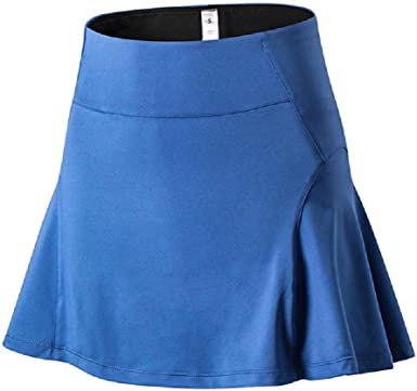 NOBRAND Falda deportiva de talle alto para mujer, para yoga ...