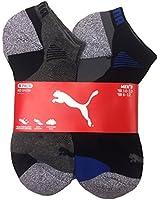 Puma Men's Low Cut All Sport No Show Socks 6-Pair