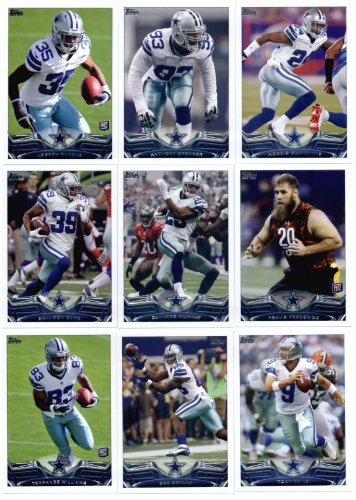 2013 Topps NFL Football Team Set (In Protective Storage Box) - Dallas Cowboys : 14 Cards > Morris Claiborne Dallas Cowboys Joseph Randle Anthony Spencer DeMarcus Ware DeMarco Murray Travis Frederick Brandon Carr Tony Romo Dez Bryant Gavin Escobar Jason Witten Miles Austin Terrance Williams