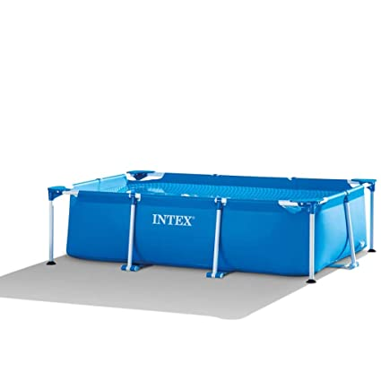 Piscina Metal Frame Junior rect 2.6 x 1.6 x 0.65 M Intex ...