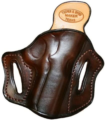 Left Hand - Tucker & Byrd Leather Full Pancake Belt Holster - S&W Governor- Black