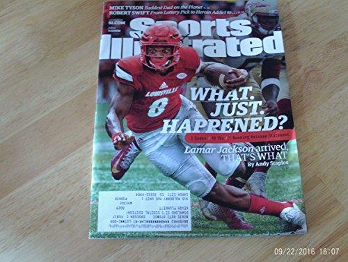 Sports Illustrated Magazine September 26 2016 | Lamar Jackson