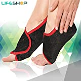 LifeShop HYDROTherapy+ Hot & Cold Foot Wrap For Active Sports & Fitness Injuries Eases Regular Sprains Physiotherapy Microwaveable And Washable