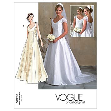 Amazon.com: Vogue Patterns V2788 Misses/Misses Petite Dress, Size 18-20-22: Arts, Crafts & Sewing