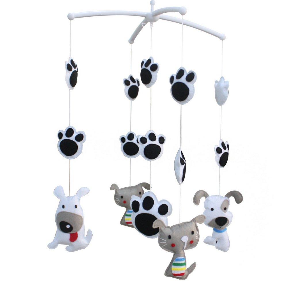 [Lovely Katze und Hund] Dekorative Mobile für Baby-Zimmer   Krippe