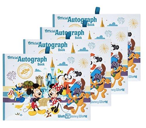 (Walt Disney World Four Parks Official Autograph Book - Set of 4 Books)