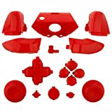 ModFreakz™ Full Button Set Thumbsticks Solid Red For Xbox One Model 1537 Controllers