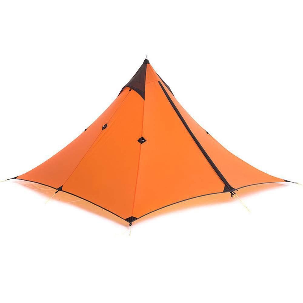 Lxj Zelt Ultra Outdoor Zelt Turmspitze Einzelne Baldachin Light Outdoor Trekking Bergsteigen Double Regenschutz Camping Zelt 210  210  h1 35cm