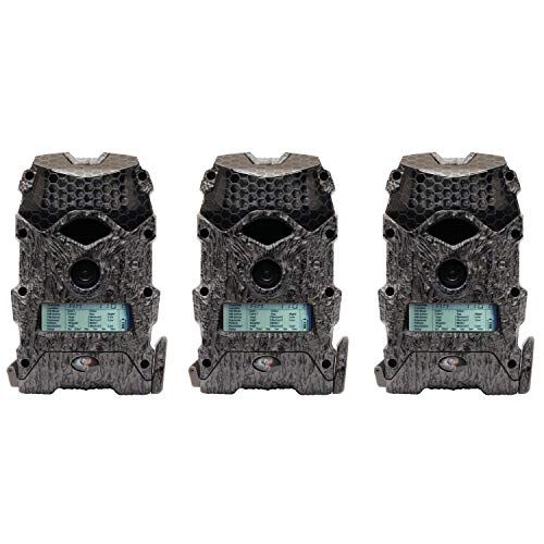 Wildgame Innovations Mirage 16 16MP 720p Video Hunting Trail Camera (3 Pack)