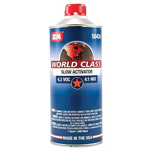 SEM 50474 World Class 4.2 VOC Slow Clearcoat Activator - 1 Quart