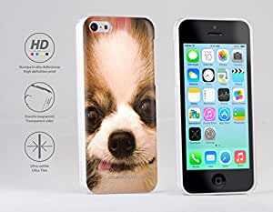 Funda Carcasa dura para Apple iPhone 5c - Perro de Papillon