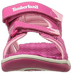 Timberland Adventure Seeker Two-Strap Sandal (Toddler/Little Kid),Pink,8 M US Toddler
