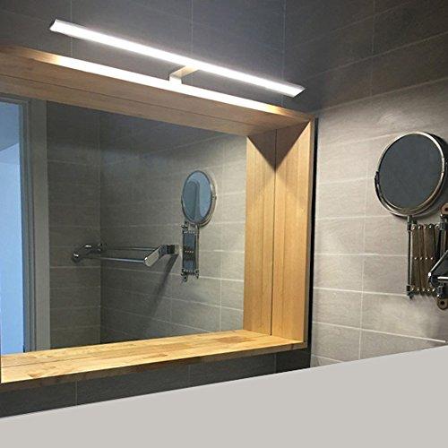 BAYTTER® 8W LED Spiegelleuchte Wandlampe Schranklampe aus Aluminum Wandleuchte für Badzimmer Schlafzimmer Gallerie usw. warmweiß IP44