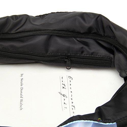 Newplenty Ladies Zippered Light Shoulder Shopping Tote Bag Handbag Beach Satchel (SB-1941)