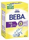 Beba HA 3, Hypoallergene Folgenahrung- ab dem 10. Monat, 2er Pack (2 x 550g)