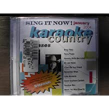 Sing It Now Country Hits January 2003 9x9 Multiplex Karaoke CDG