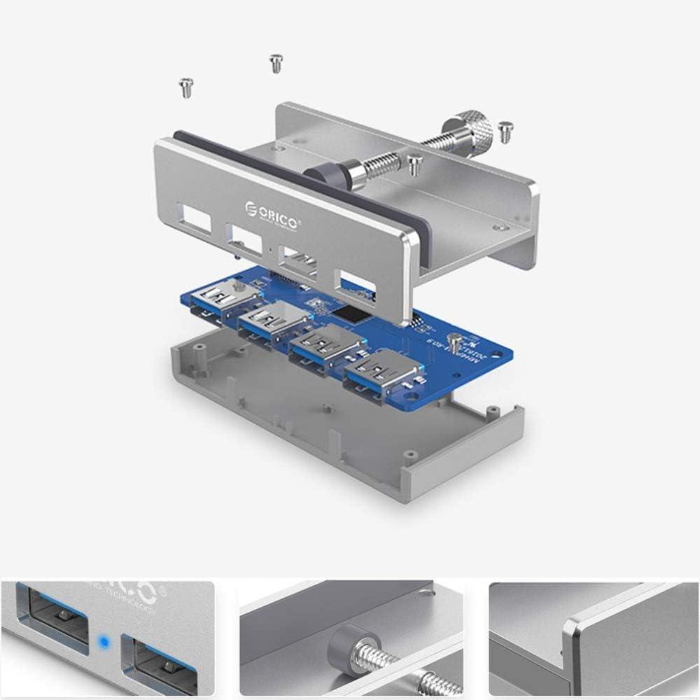YSM USB Port Hub USB Charger Aluminum Usb3.0 Splitter Computer Notebook Conversion Buckle Extended HUB Hub