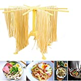 Debolic Collapsible Pasta Drying Rack and Spaghetti Drying Rack Stand/Spaghetti Pasta Maker with 10 Arms Food Grade ABS Plastic Matrial Household Noodle Dryer Stander Holder