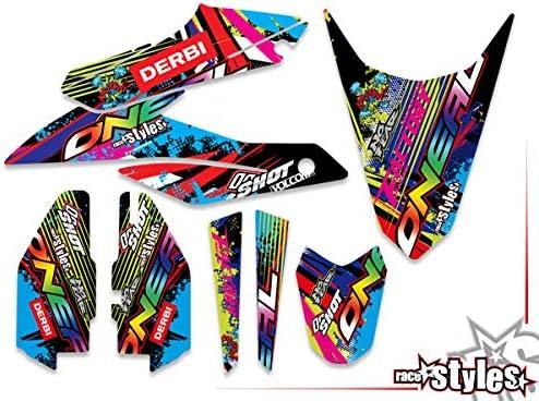 race-styles Aufkleber kompatibel mit DERBI Senda DRD X-Treme 125 Graphics DEKOR
