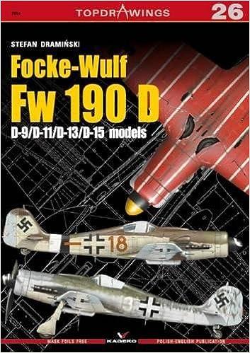 Focke-Wulf Fw 190 D: D-9/D-11/D-13/D-15 Models (TopDrawings)