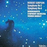 Robert Simpson: Symphonies Nos 2 & 4