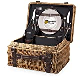 NCAA Colorado College Tigers Champion Picnic Basket with Deluxe Service for Two, Black Review