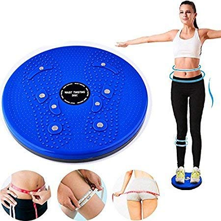 ASHDIM Perfect 5 in 1 Magnetic Twister Magnetic Disk Tummy Twister Rotating Machine Cincher Girdle for Weight Loss- Home Gym Exercise Price & Reviews