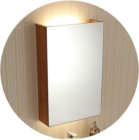 Armoires avec miroir Miroir Simple Meuble En Bois Massif ...