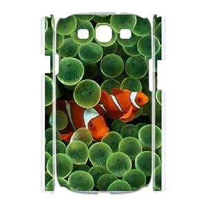 Samsung Galaxy S3 I9300 Phone Case Colorful fish Q3S33W8501 Kimberly Kurzendoerfer