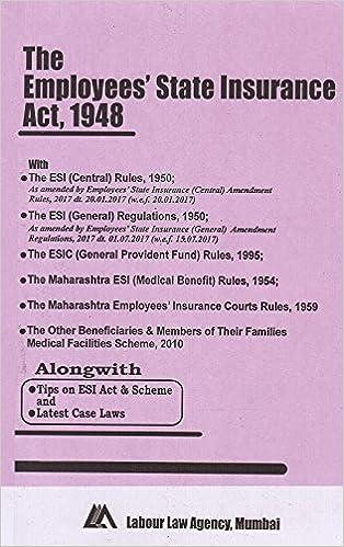 Esi Act 1948 In Pdf Download