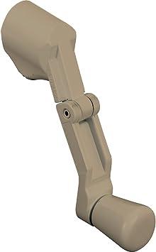 Folding Prime-Line Products H 3959 Casement Handle Aluminum Universal Spline