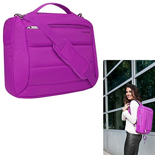 - Women Laptop Shoulder Bag Sleeve Pouch Backpack Messenger Bag for Asus Inspiron 15 7000, Inspiron 15, Inspiron 14, Fujitsu LIFEBOOK, Gateway NE Series, HP Envy, ProBook