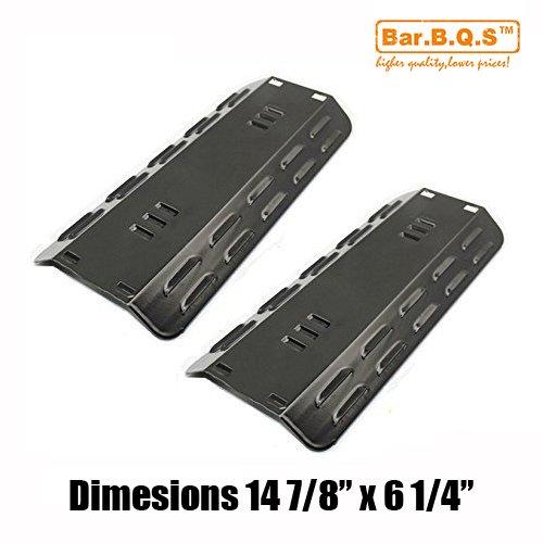 Bar.B.Q.S 93501 2pack Porzellan Stahl Heizplatten, Hitzeschild, Ersatz für Gasgrill Modell Dyna-Glo DGP350NP, 101-03005