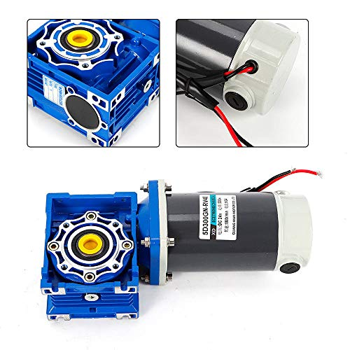 TFCFL DC24V 300W Gear Speed Reduction Motor 5D300GN-RV40 with self-locking Gearmotors Electric Motors Automation