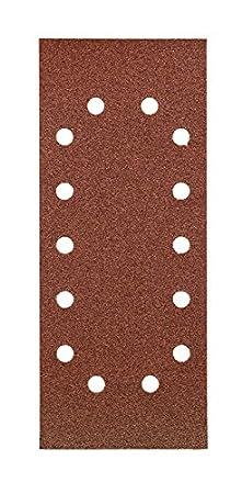 Set de 10 Piezas KWB 49818708 Pack Tiras abrasivas 80k 115 x 280 mm 115x280mm