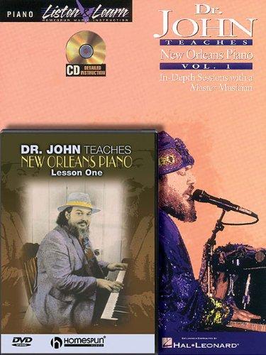 Dr. John - Piano Bundle Pack: Dr. John Teaches New Orleans Piano - John Dr Orleans New Teaches Piano