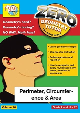 Amazon.com: Zero The Math Hero - Perimeter, Circumference & Area ...