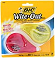 BIC Wite-Out Brand EZ Correct Correction Tape, 2-Count by BIC Corporation