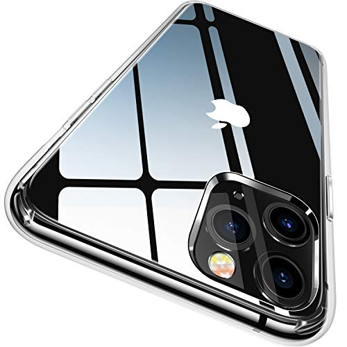 CASEKOO Crystal Clear Designed for iPhone 11 Pro Max Case, [Not Yellowing] [Military Grade Drop Tested] Shockproof…
