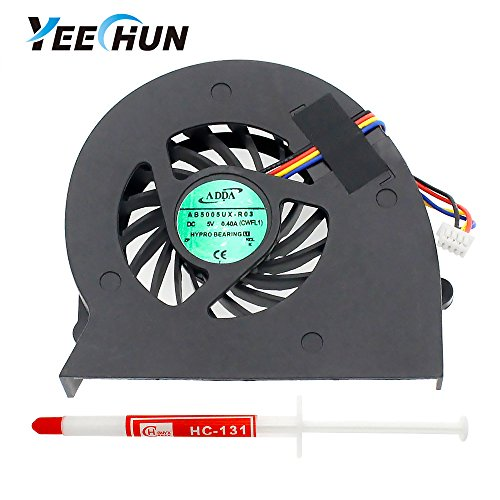 YEECHUN CPU Cooling Fan for Sony Vaio VPC-F F115FM PCG-81214L PCG-81114L Series Replacement Accessories Part Number: M930 UDQFRRH01DF0 300-0001-1262_A MCF-S6012AM05B