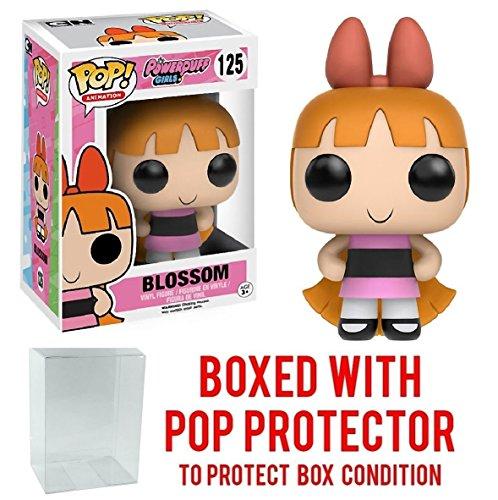 Funko Pop! Animation: Powerpuff Girls Blossom Vinyl Figure Bundled with Free Pop BOX PROTECTOR CASE]()