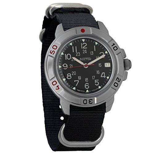 Vostok Russian Watch Movement (Vostok Komandirskie 2414 431783NB Russian Military Mechanical Watch)