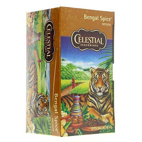 (Celestial Seasonings Bengal Spice Herb Tea, 20 CT (Pack of 2))
