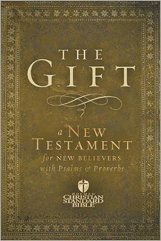 Book Gift-Hcsb: A New Testament for New Believers (Holman Christian Standard Bible) (2003-01-04)