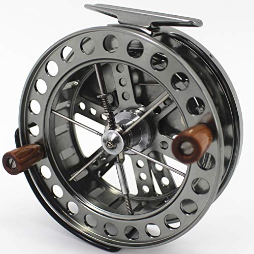 CHANNELMAY CNC Machined Aluminum CENTERPIN Center PIN Float Fishing Reel 113.5MM 4 1/2 inches Steelhead Salmon Trotting Fishing