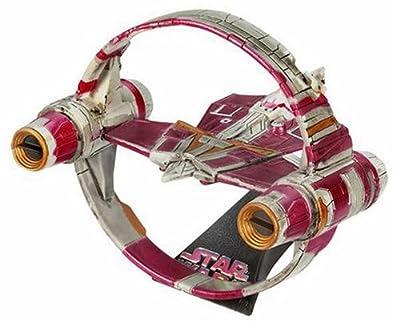 Hasbro Titanium Series Star Wars 3 Inch Vehicles Episode 2 Jedi Starfighter Hyper Ring