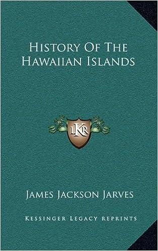 Book History of the Hawaiian Islands
